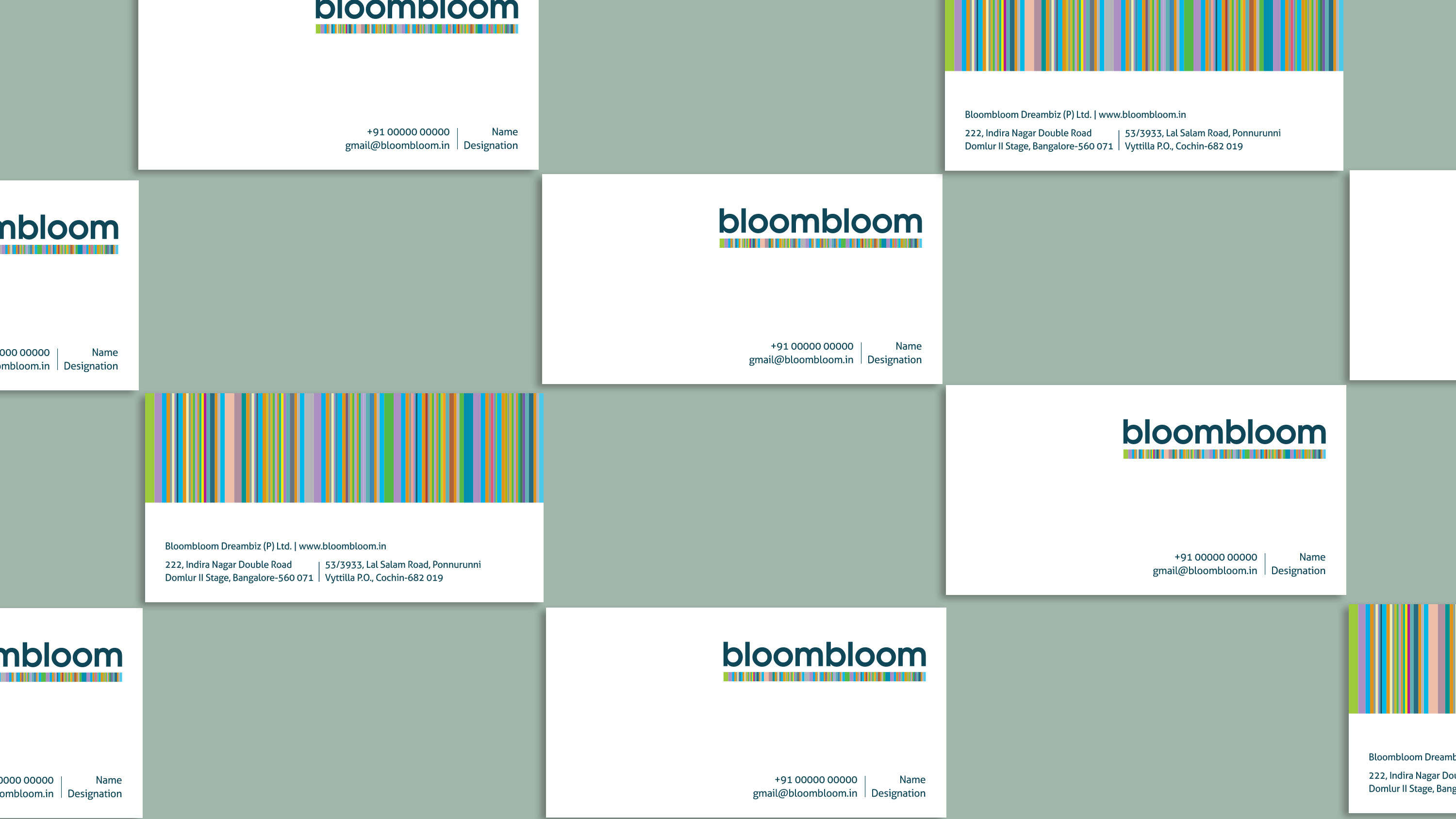 One Idea | Bloombloom | Visiting Cards