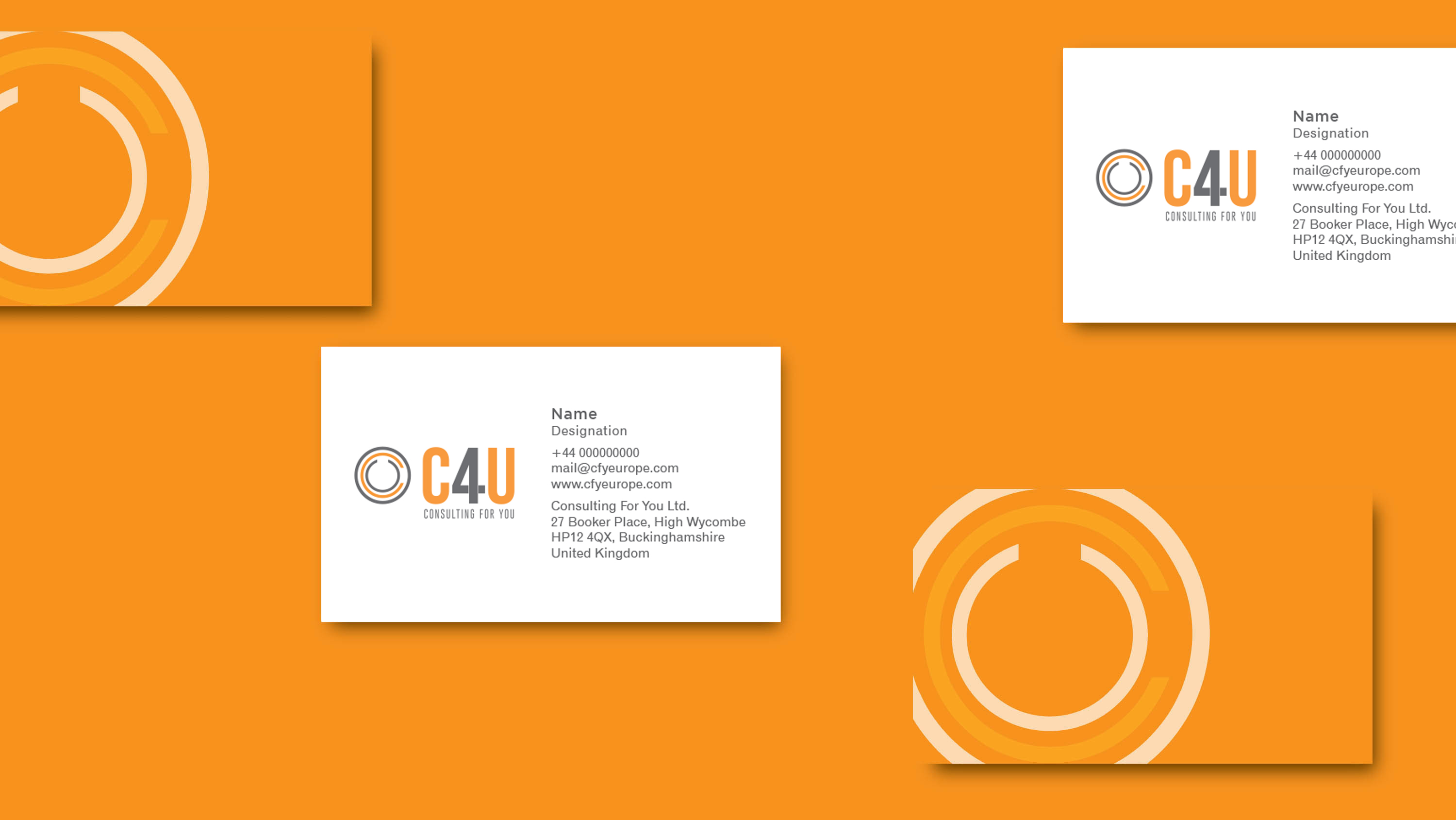One Idea | C4U | Visiting card
